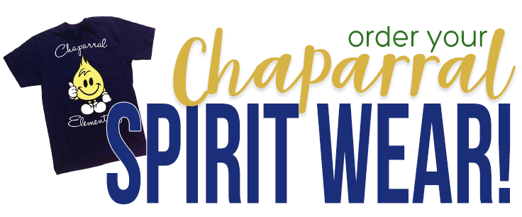 Order Chaparral Spirit Wear!