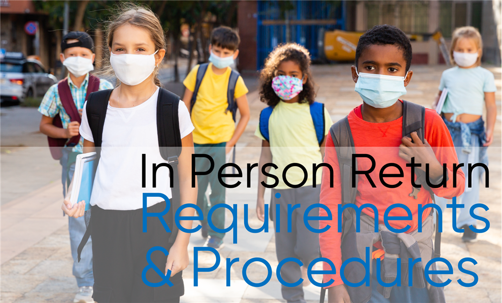 In-Person Return - Procedures