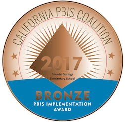 Country Springs Bronze Implementation Award