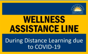 The newly launched CVUSD Wellness Assistance Line serves students and families within the Chino Vall
