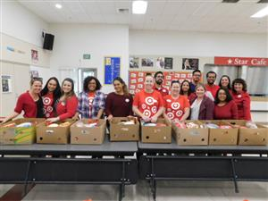 Thanksgiving meals for Dickson families