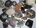 Various rocks & minerals.