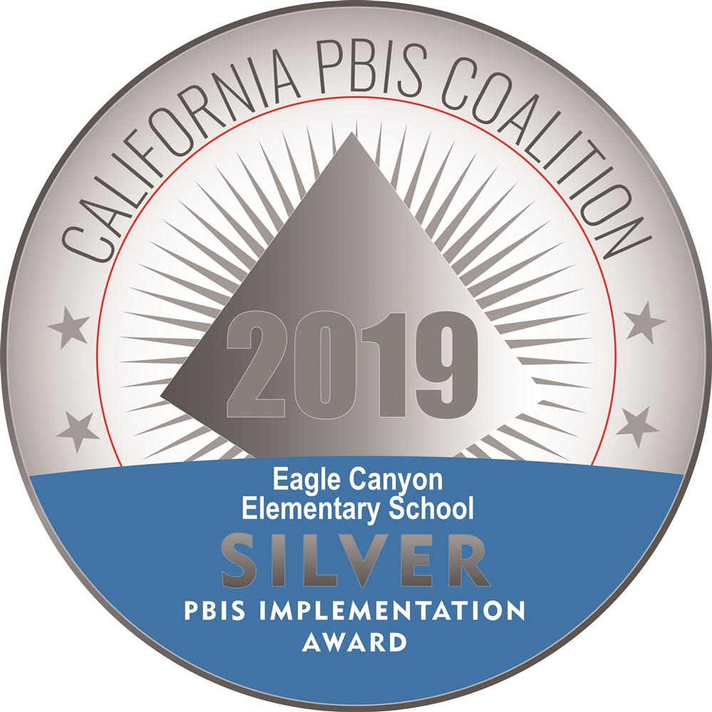 CA PBIS Silver Medal 2018
