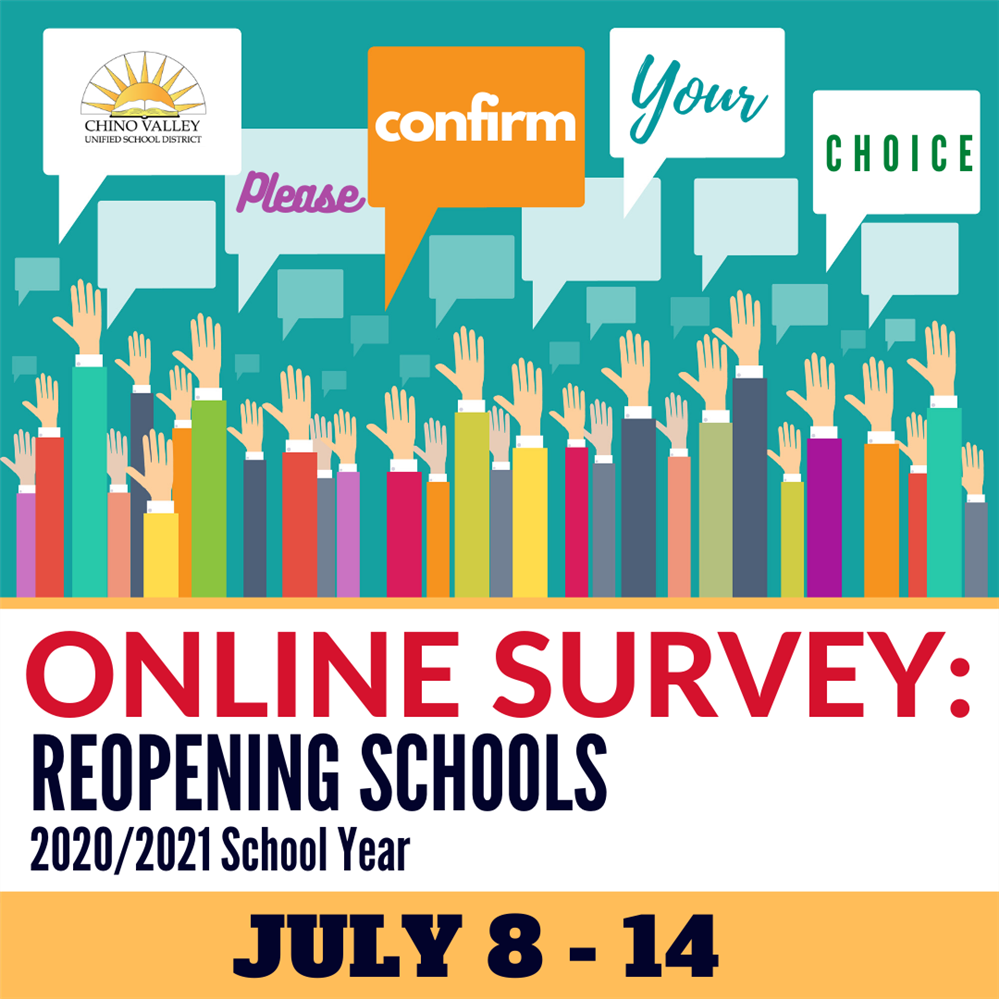 Parent & Guardian Online Survey to Reopen Schools for 2020-21 SY