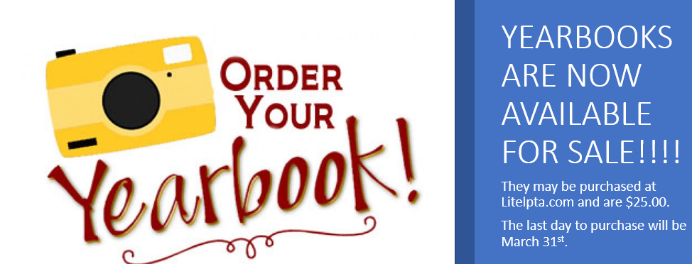 Yearbooks are now available for sale!!!!
