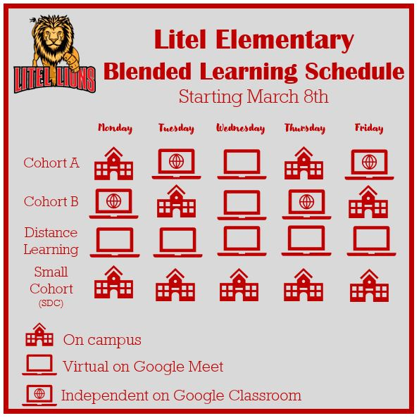 Litel Elementary Blended Learning Schedule