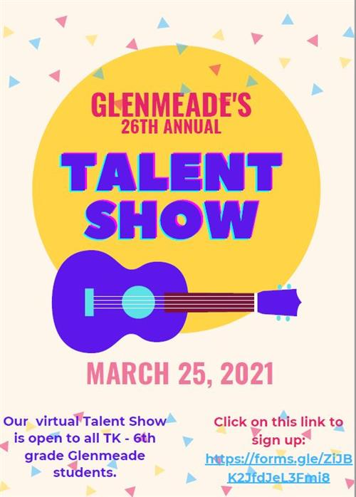 Glenmeade 26th Annual Talent Show