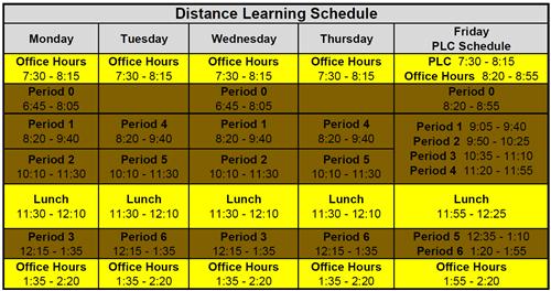 DL schedule