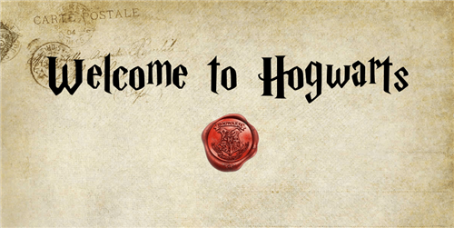 Welcome to Hogwars