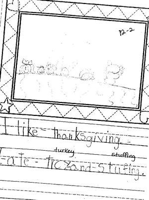 The Kindergarten Connection / Writing Samples for Kindergarten