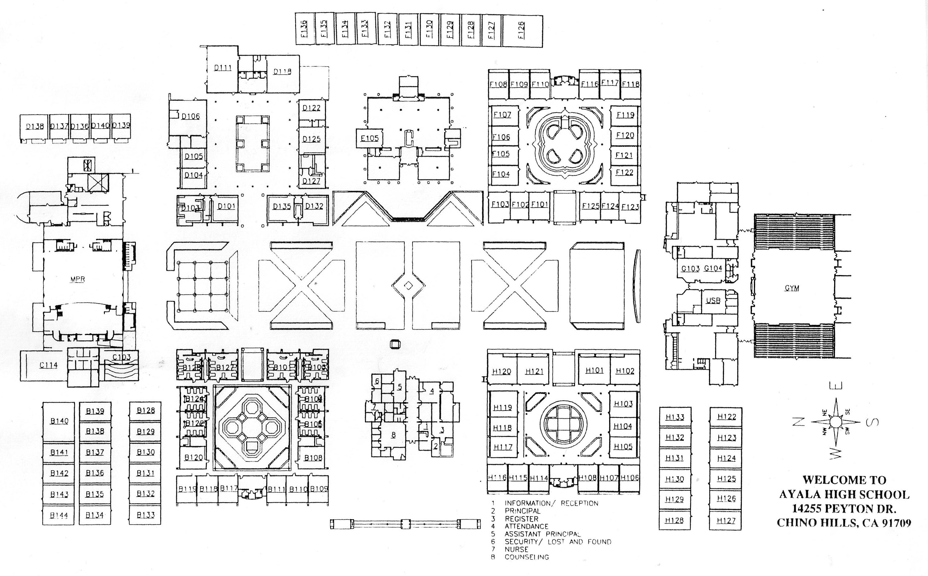 Red Mountain High School Campus Map.Ayala High School Homepage