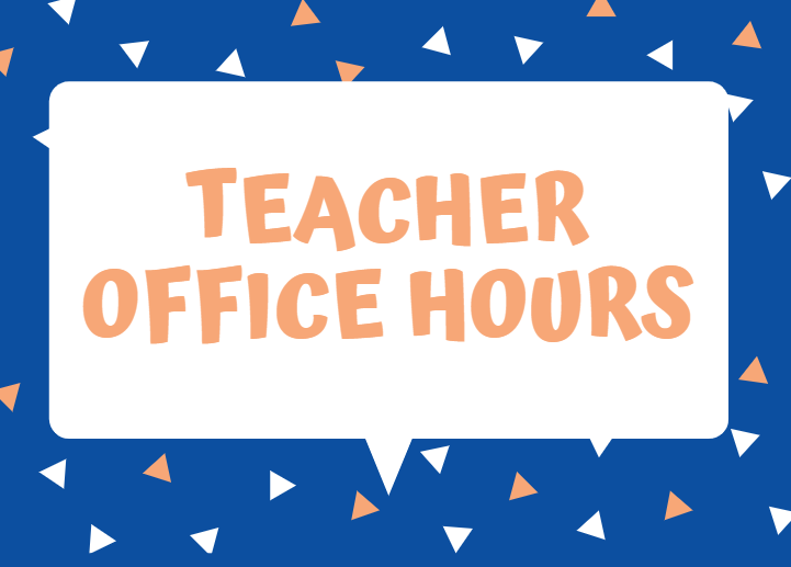 Jr. High & Elementary School Teacher Office Hours