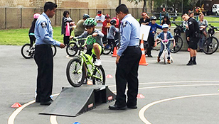 Bike Rodeo Teaches Safe Bicycle Riding Skills and Habits