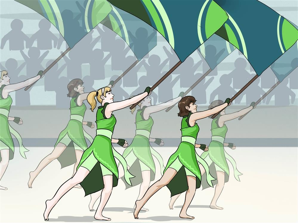 Want to join the Colorguard Team?