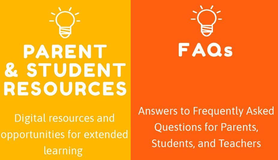 Distance Learning Resources and FAQs