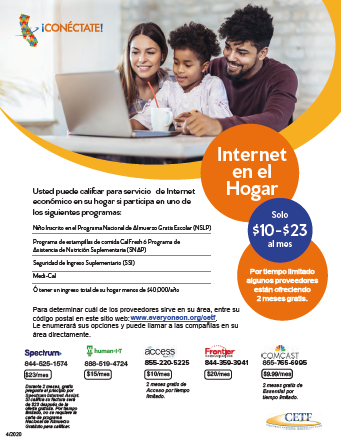 Click here for information on affordable internet