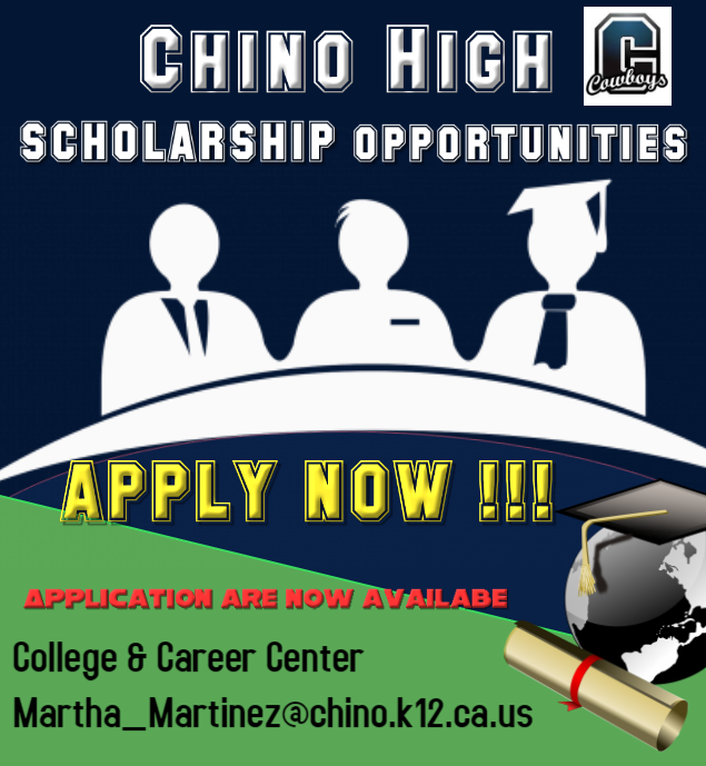 CHS Scholarships Opportunities