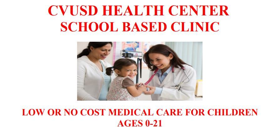 CVUSD Health Center and the services
