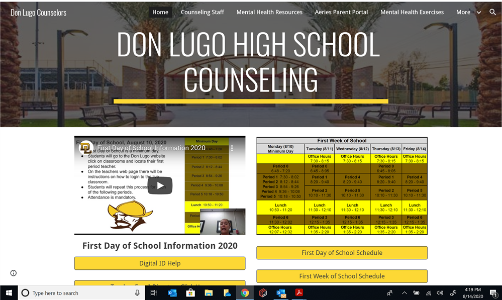 Check out the NEW Counseling page