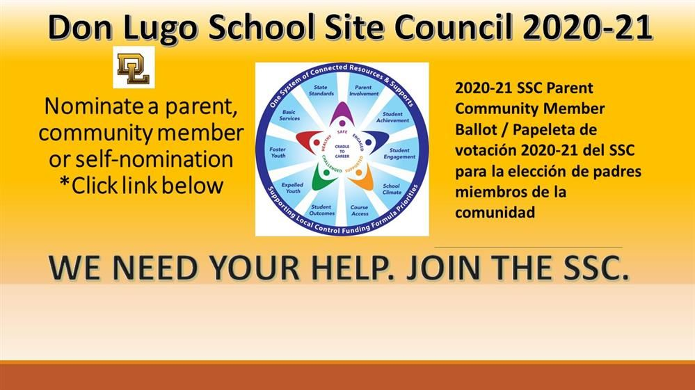 Nominate for School Site Council