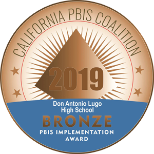 Don Lugo Awarded PBIS Bronze Recognition Award