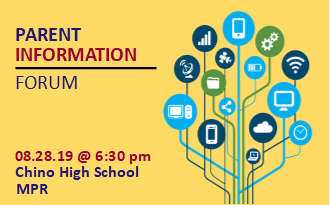 Parent Information Forum Scheduled August 28, 2019 - FREE and Open to the Public