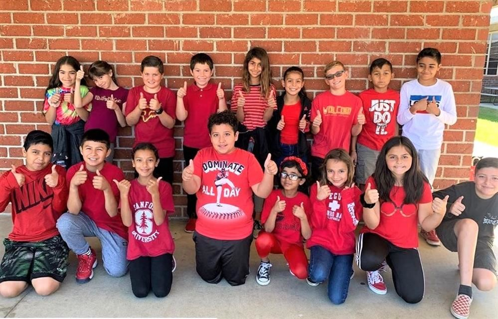 CVUSD Pledges to be drug free during Red Ribbon Week