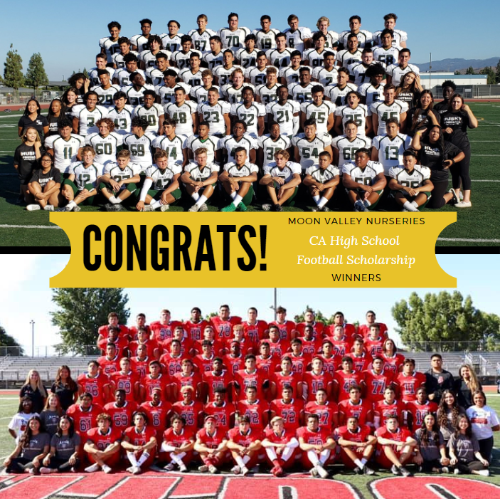 Chino Hills HS and Ayala HS Football Programs Win $1000 Sponsorship