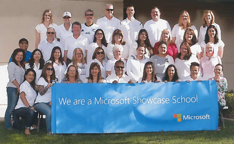 Woodcrest JHS Named Microsoft Showcase School Two Years in a Row