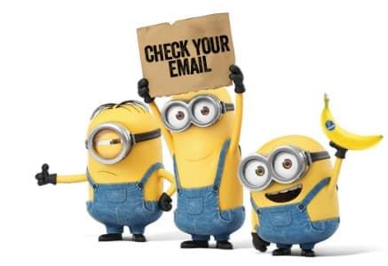 Minions Email