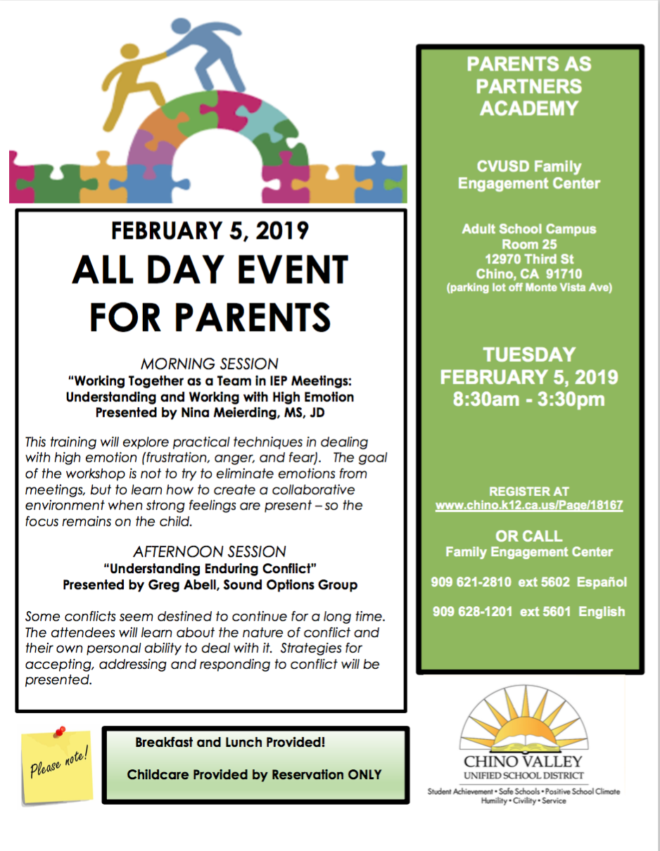 Parents as Partners Academy