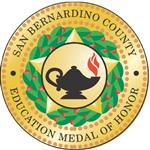 Logo of San Bernardino County Education Medal of Honor