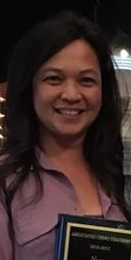 Head and shoulders photo of Chona Wroth, an adult female.