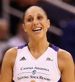 Photo of adult woman in athletic tank top, Diana Taurasi