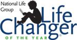 Logo for LifeChanger of the Year award