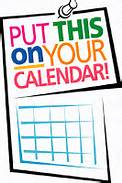 Illustration of a sign that reads put this on your calendar