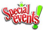 Illustration of the words Special Events
