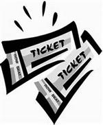 Ilustration of two play tickets