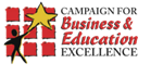 Logo for the Campaign for Business & Education Excellence